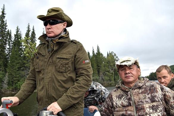 Опубликована полная версия путешествия Путина по Сибири. Опубликована полная версия путешествия Путина по Сибири