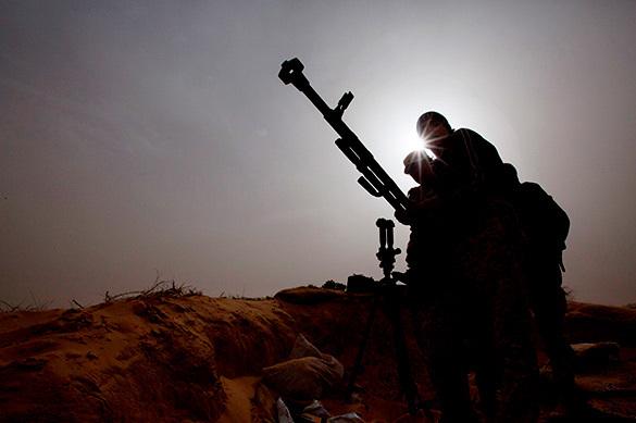 Боевики обстреливают гуманитарный коридор в Сирии