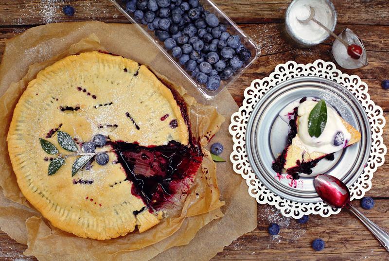 Семь блюд американской кухни, без которых Америка не была бы Америкой. Американский черничный пирог