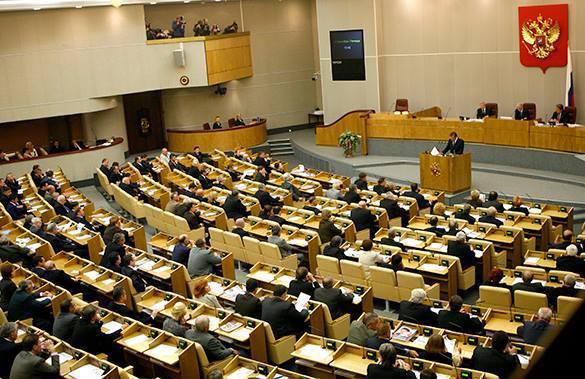 """Госдума получила законопроект о """"замещенном мандате"""". Госдума"""