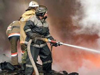 Пожарные потушили огонь на Запорожском автозаводе