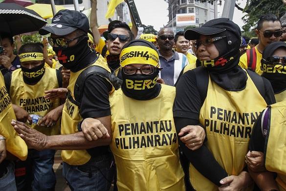Протест в Малайзии