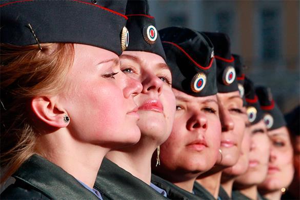 У Гордости полиции женское лицо