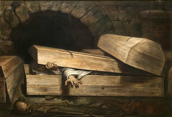 О страхе быть похороненными заживо