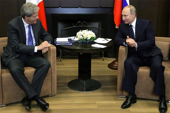 Путин сообщил премьеру Италии секретную информацию