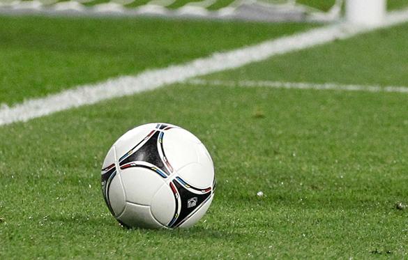 Сборная по футболу Луганской Республики провела первый международный матч. футбол