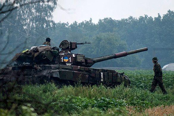 Украинская армия применит против ополченцев