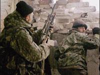 Милиционеры вступили в бой с террористами в Чечне