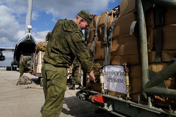 Российские военные раздали сирийцам 10 тонн гуманитарной помощи. 389229.jpeg