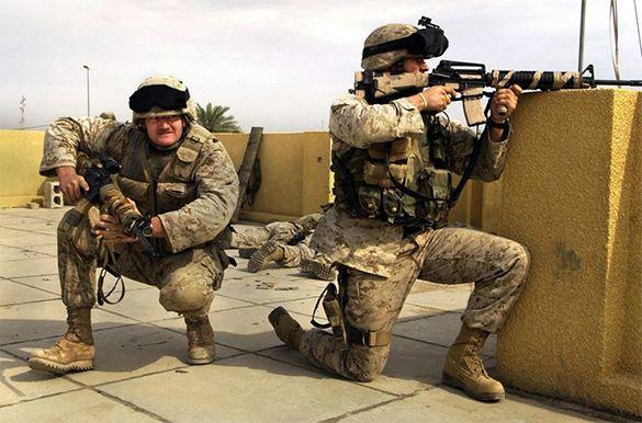 Морские пехотинцы готовятся подавлять внутренние беспорядки в США. Видео. 318230.jpeg