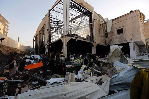 В итоге  авиаудара аравийской коалиции вЙемене погибли 24 мирных жителя