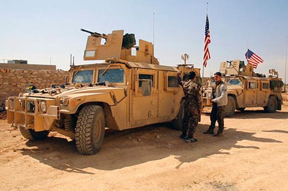 Коалиция под управлением США нанесла удар попроправительственным силам Сирии