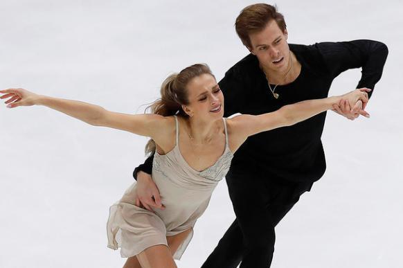 Синицина и Кацалапов  - вторые после ритм-танца на чемпионате мира. 401236.jpeg