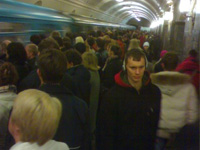 Молодой самоубийца лёг под поезд на