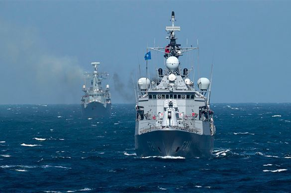 Литва сообщает в НАТО о ходе российско-китайских учений на Балтике. Литва сообщает в НАТО о ходе российско-китайских учений на Балти