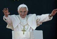Бенедикт XVI провел встречу с главой Мексики. папа римский