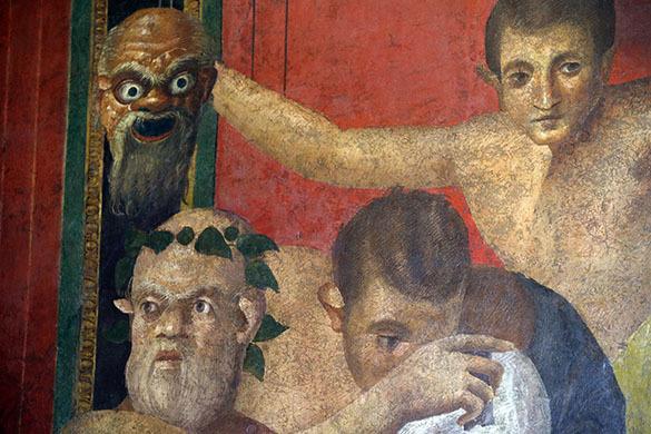 Вторая жизнь фресок Виллы Мистерий в Помпеях. Фрески Виллы Мистерий, Помпеи