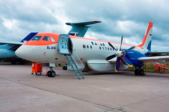Российский Ил-114 будет введен в эксплуатацию в 2019 году