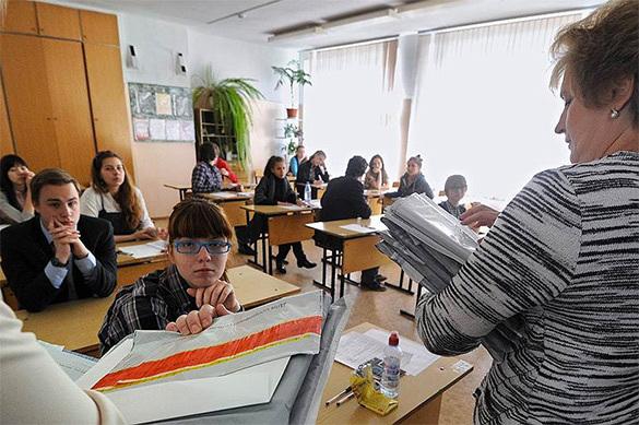 ВЛатвии пробуют освободиться отрусского языка вшколах