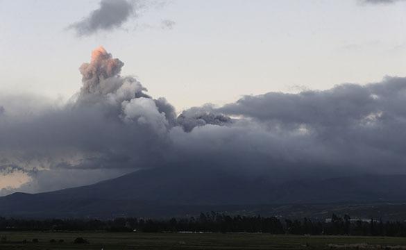 Вулкан в Эквадоре Котопахи