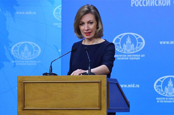 Захарова: Порошенко говорит о своей стране как о еже или лягушк