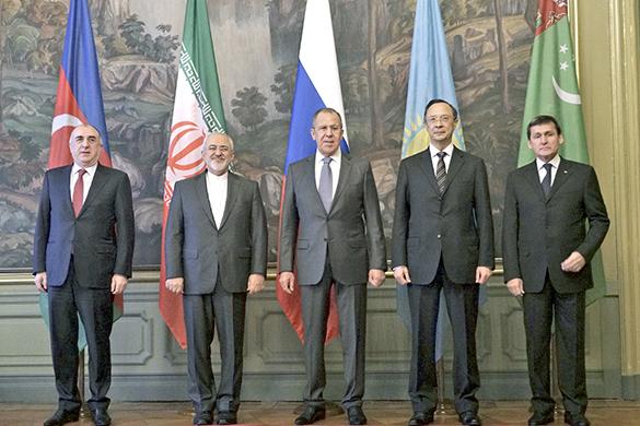 Консенсус по Каспию: сюда не пустят базы НАТО. Консенсус по Каспию: сюда не пустят базы НАТО