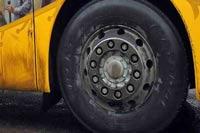 Автобус врезался в грузовик в Дагестане