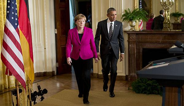 Главы США и Германии начали переговоры по ситуации на Украине. Меркель и Обама в Белом доме