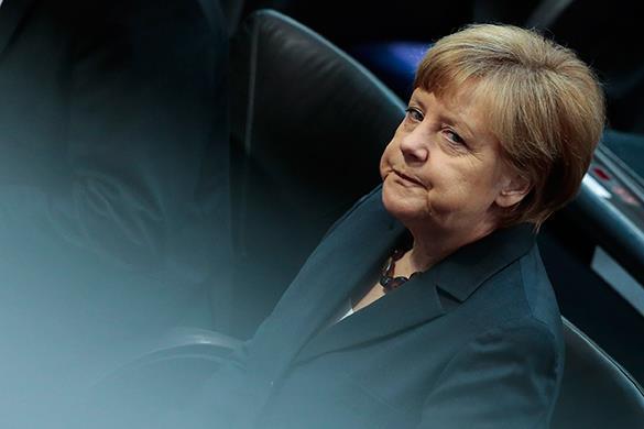 Ангела Меркель уставшая