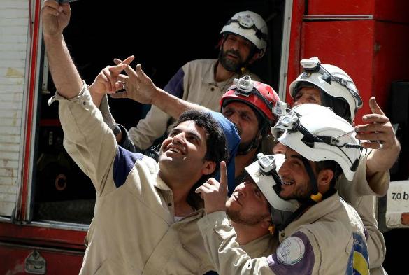 Волонтеры Белых шлемов