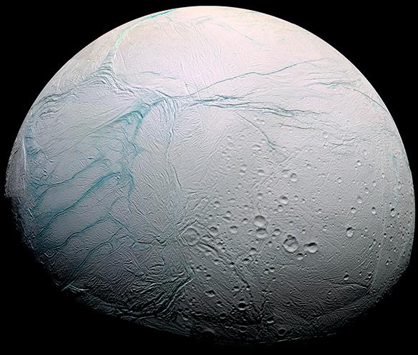 Cпутник Сатурна Энцелад может быть обитаемым?. Энцелад, спутник Сатурна, космос, планета