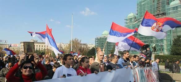 Сербы протестуют и требуют переизбрания парламента. 315254.jpeg