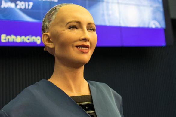 Украинцы сломали робота Софию вопросом о коррупции. Украинцы сломали робота Софию вопросом о коррупции