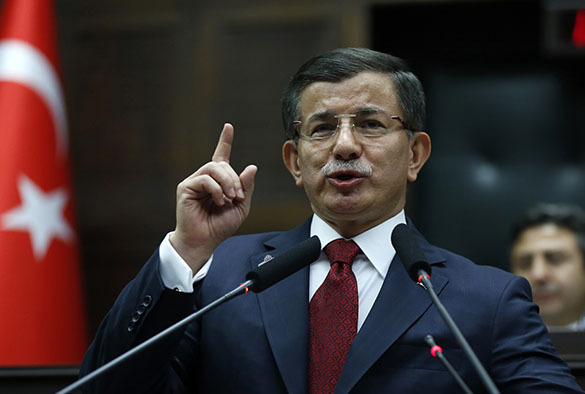 Премьер Турции Ахмет Давудоглу