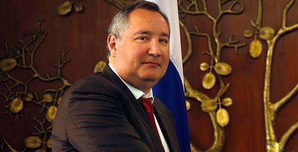 Рогозин написал рэп об Украине