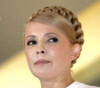 Тимошенко прилетела в Москву за ядерным топливом