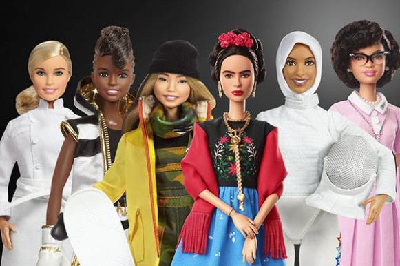 """Представлены 18 новых """"Барби"""", похожих на известных сильных женщин. Представлены 18 новых Барби, похожих на известных сильных женщ"""