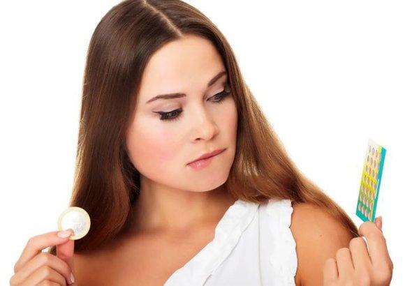Презерватив - не  лучший способ контрацепции. контрацепция