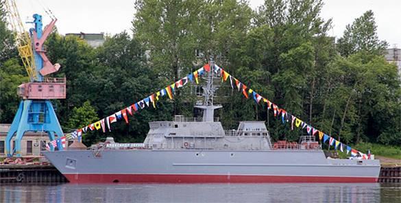 В Петербурге начали выпуск противоминных кораблей  нового поколения. противоминный корабль