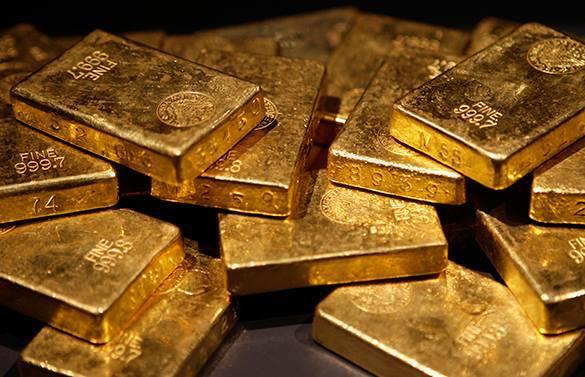 плитки золота