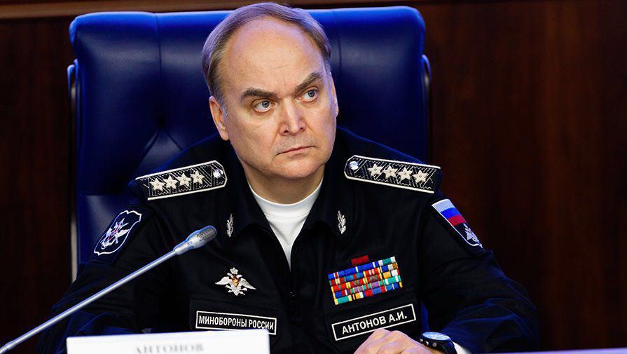 Путин назначил Анатолия Антонова чрезвычайным послом России в США. Путин назначил Анатолия Антонова чрезвычайным послом России в СШ