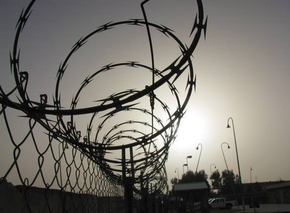 В свердловской колонии заключенные протестуют отказом от еды. тюремный забор, зона
