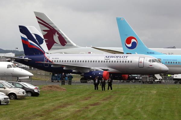 Аэрофлот отменил несколько рейсов из-за дефекта Sukhoi Superje
