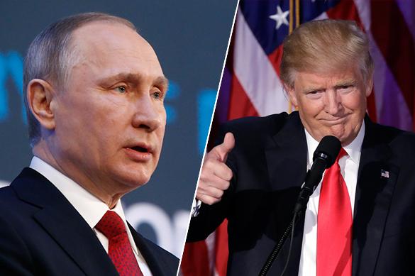 Мыполадили сПутиным— Трамп