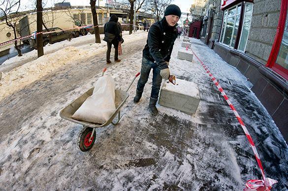После ледяного дождя в Москве госпитализированы более 190 челове