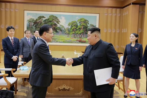 Ким Чен Ын готов отказаться от ядерных испытаний. Ким Чен Ын готов отказаться от ядерных испытаний