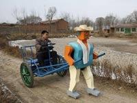 Китайцы придумали роботов для одиноких пенсионеров