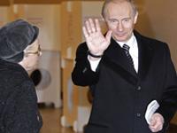 Путин принял участие в голосовании на выборах в Мосгордуму
