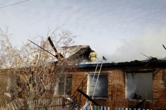 Дедушка и внучки сгорели в Омской области. Дедушка и внучки сгорели в Омской области