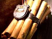 В заброшенном доме обнаружили 100 килограммов взрывчатки